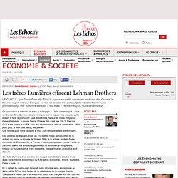 Les frères Lumières effacent Lehman Brothers