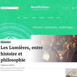 Les Lumières, entre histoire et philosophie