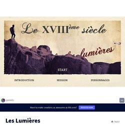 Les Lumières by nanou11111 on Genially
