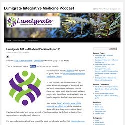Lumigrate Integrative Medicine Podcast | Official Podcast Feed for Lumigrate.com