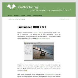 Luminance HDR 2.3.1