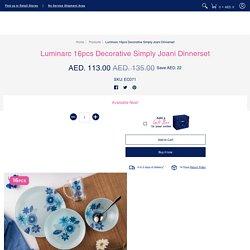 Luminarc Decorative Simply Jaoni Dinnerset - 16pcs