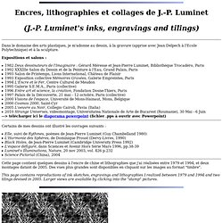 J.-P. Luminet : Dessins et lithographies