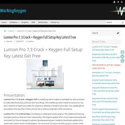 Lumion Pro 7.3 Crack + Keygen Full Setup Key Latest Free