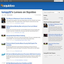 lumpy22's Lenses on Squidoo