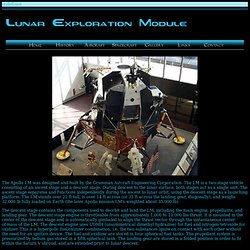 Lunar Exploration Module