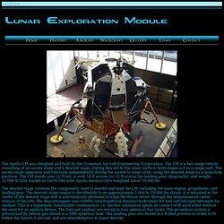 Lunar Exploration Module