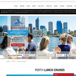 Upper Swan And Perth River Lunch Cruise
