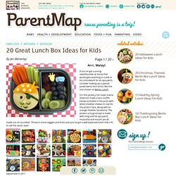20 Lunch Box Ideas for Kids I Bento Box Lunch Ideas I Kids Lunch Boxes