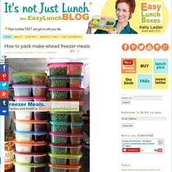 It's not just Lunch – Pack lunches fast and get on with your life. The EasyLunchboxes Blog