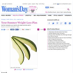 Lunch Meal Plan - Summer Weight-Loss Plan - Womans Day