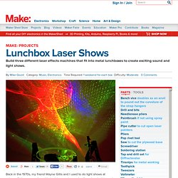 Lunchbox Laser Shows