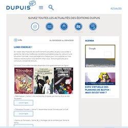Info, Lundi énergie ! - Editions Dupuis