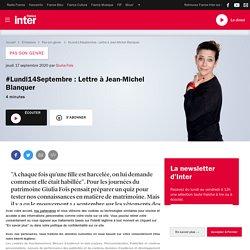 #Lundi14Septembre : Lettre à Jean-Michel Blanquer