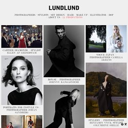 LUNDLUND Photographers, Stylists, Prop-Stylists/Set Design, Food Stylists and Illustrators : LUNDLUND