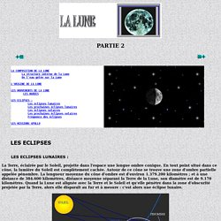 La Lune - Partie 2
