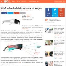 ORA-S, les lunettes à réalité augmentée à la française
