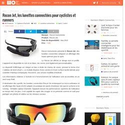 Recon Jet, les lunettes connectées pour cyclistes et runners