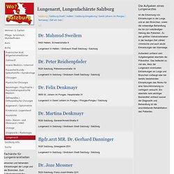 Lungenärzte: Salzburg