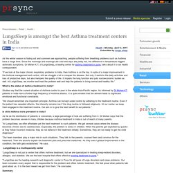 LungsSleep is amongst the best Asthma treatment centers in India