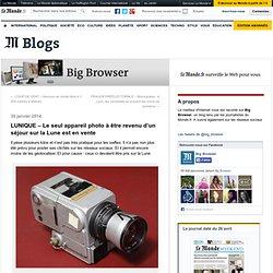 LUNIQUE – Le seul appareil photo à être revenu d'un séjour sur la Lune est en vente