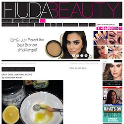 Luscious Lip Scrub! & huda beauty - StumbleUpon
