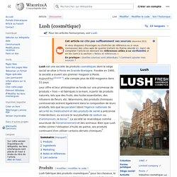 Lush (cosmétique)