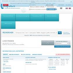 LUSH FRANCE à PARIS (480430875)
