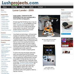 Lushprojects.com - Lunar Lander