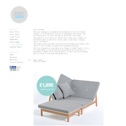 Luso Lounger, James Uren's Portfolio
