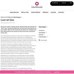 Lust att läsa – Digi-bloggen
