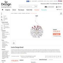 Lustre Design Corail: Lustre Design - SoDezign.com
