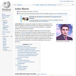 Luther Blissett