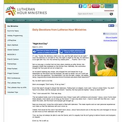 Lutheran Hour Ministries - Resources for You