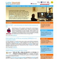 Le Laboratoire des Usages en Technologies d'Information Numérique - Lutin Userlab