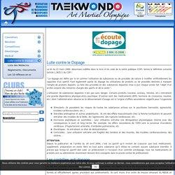 Définition du dopage loi du 23/03/1999 livre VI CSP, Code de la Santé Publique