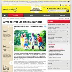 Lutte contre les discriminations - Région Rhône