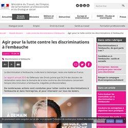 Agir pour la lutte contre les discriminations à l'embauche - Lutte contre les discriminations à l'embauche