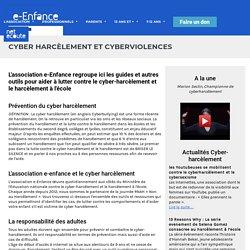 Lutte contre le cyber harcèlement - Prevention harcèlement