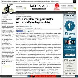 NVB : son plan com pour lutter contre le décrochage scolaire