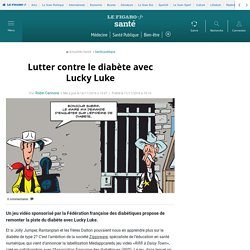 Lutter contre le diabète avec Lucky Luke