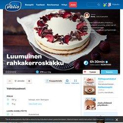 Luumuinen rahkakerroskakku - Valio.fi