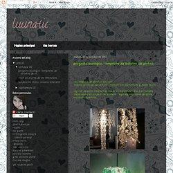 """proyecto ecológico """" lamparas de botellas de platico """""""