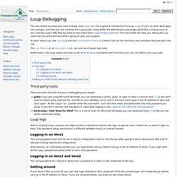 Luup Debugging