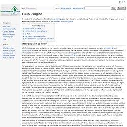 Luup Plugins