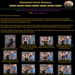 Diamond Chest Harness