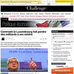 Paradis fiscal: Juncker prêt à sanctionner le Luxembourg?
