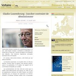 Gladio-Luxembourg : Juncker contraint de démissionner