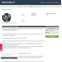 Luxembourg's first and totally free minijobs community