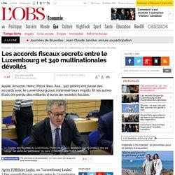 Les accords fiscaux secrets entre le Luxembourg et 340 multinationales dévoilés - L'Obs
